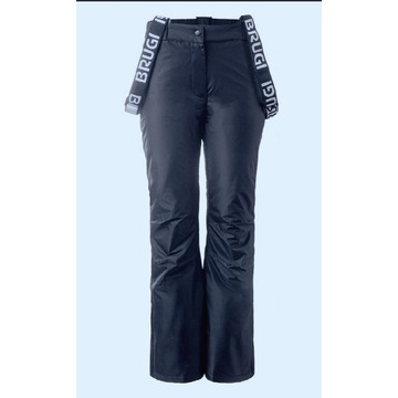 Spodnie narciarskie BRUGI, damskie rozmiar L
