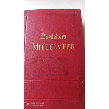 BAEDEKER'S Mittelmeer 1909