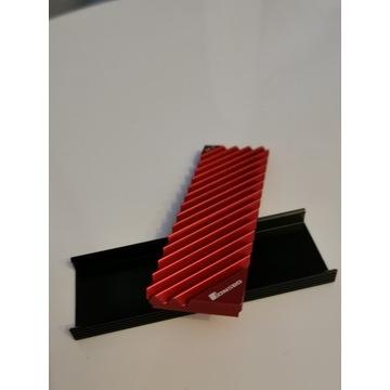 Radiator SSD M.2 2280 czerwony