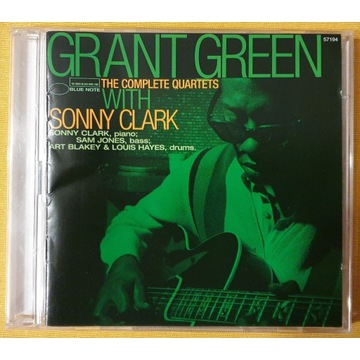 Grant Green Complete Quartets with Sonny Clark CD