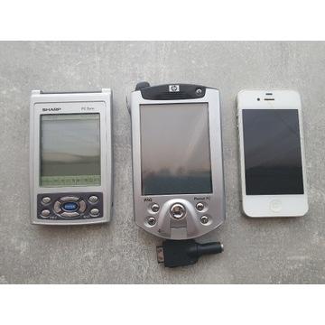 IPhone 4, HP iPAQ, Sharp