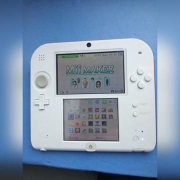 Nintendo 2DS+gra+nagrywarka+karta SDHC 4GB