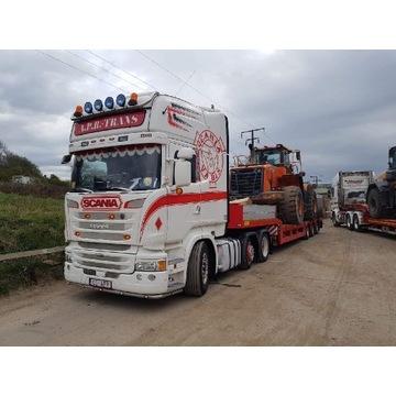 Scania R450/500 6/2 zestaw z naczepą