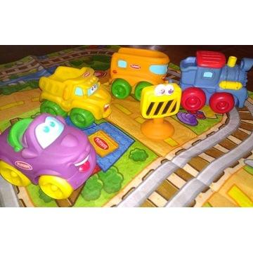 Mata + samochody Playskool