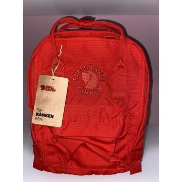 Plecak FJALLRAVEN KANKEN mini-czerwony.