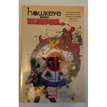 Hawkeye kontra deadpool nowy folia