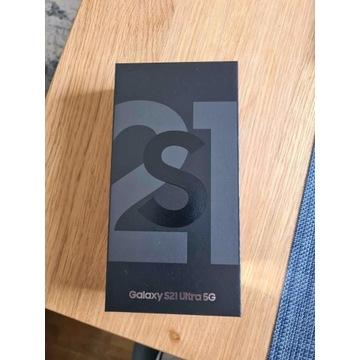 Samsung S21 Ultra 5G black 128GB ubezpieczony