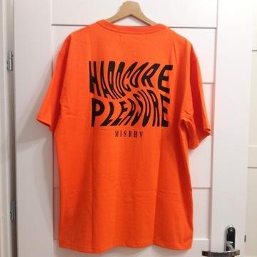 Koszulka Misbhv Hardcore Pleasure pomarańczowa XL