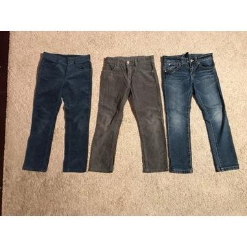 3 pary jeans dziecięcych Benetton rozm 120 perfect