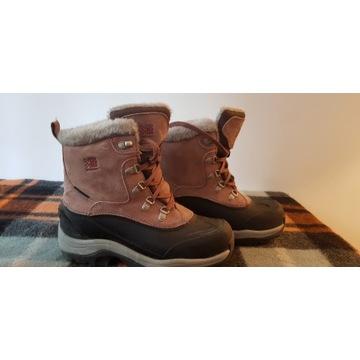 Buty śniegowce skóra ocieplane Karrimor