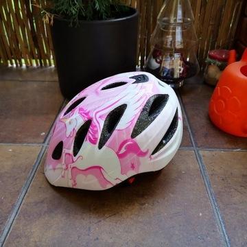 Kask rowerowy Giro Rascal,50-54 cm,dziewczynka