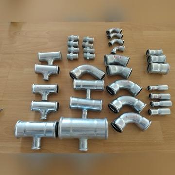 Trójniki złączki STEEL PRES