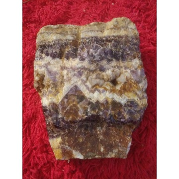 ametyst szewron (chevron) 10kg kryształ górski