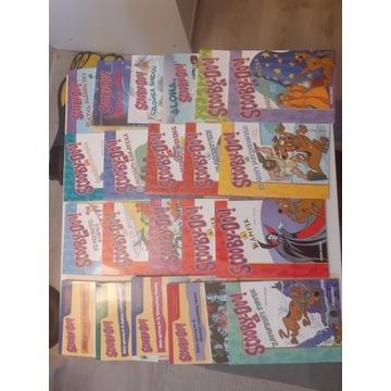 SCOOBY DOO książeczki dla dzieci 21 szt komplet