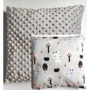 Poduszka dziecięca minky/bawełna 40 x 40 cm