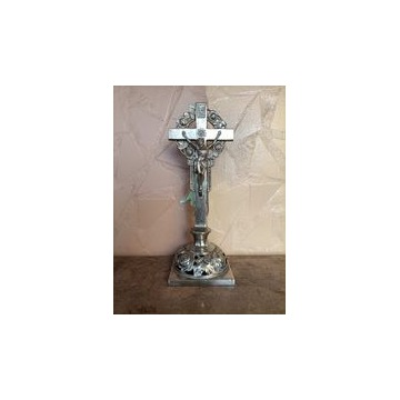 Krucyfiks - metalowy 39 cm