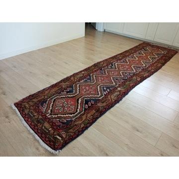 Piękny orientalny ręcznie tkany chodnik 77x304cm