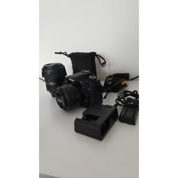 NIKON D7500 + Nikkor 35 mm + 18-300mm