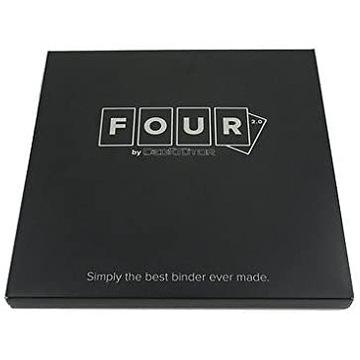 Klaser na karty Deck Tutor FOUR 12 slotów - Czarny