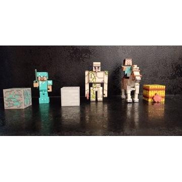Figurki minecraft Z Mojang!!