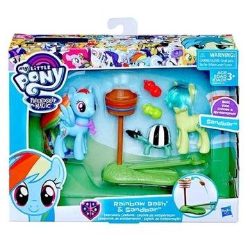 Pony Rainbow Dash i Sandbar UNIKAT, jedyny taki!!!