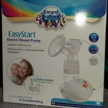 Laktator Canpol Babies + pojemnik do sterylizacji