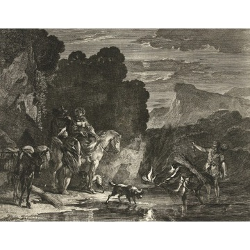 Nicolaes Berchem (1621-1683), Poławiacze krabów