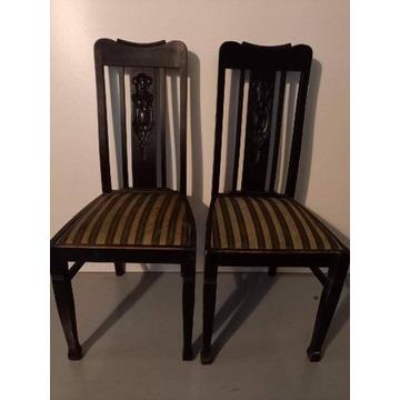 Krzesła do biurka Międzywojnie