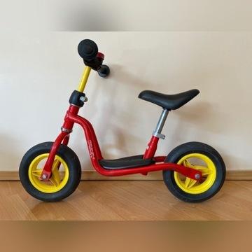 Rower biegowy Puky czerwony.