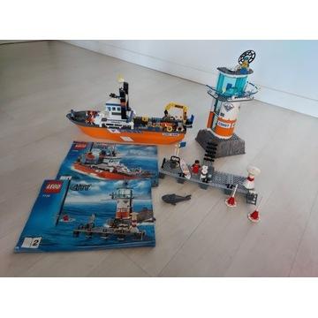 Zestaw Lego City łódź patrolowa i wieża straży 77