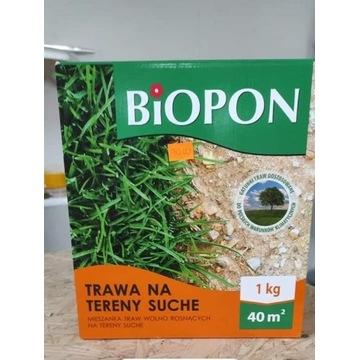 Trawą na tereny suche Biopon 1 kg