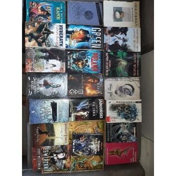 Zestaw książek fantasy  komplet książek 20 szt