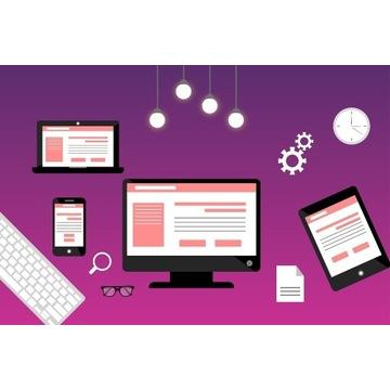 Strona WWW + Domena, Serwer, SSL i Logo
