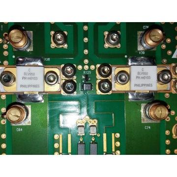 PA + obudowa+ 2x BLV958, wentylator PAPST 3412...