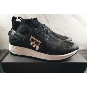 Nowe męskie buty Karl Lagerfeld KL95150 400 VEKTOR