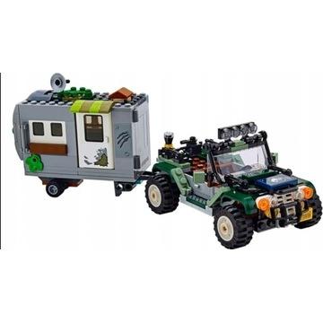 LEGO JURASSIC WORLD 75935 - SAMOCHÓD Z PRZYCZEPĄ