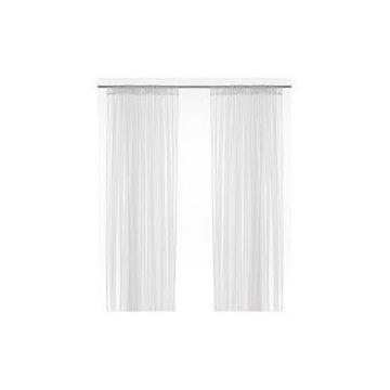 IKEA lilly białe eleganckie firany 300x280