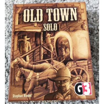 OLD TOWN SOLO [G3] gra karciana [PL]