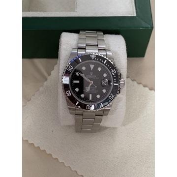 Zegarek Rolex Submariner date black steel