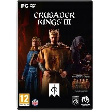 Crusader Kings 3 III - PC, wersja pudełkowa (BOX)