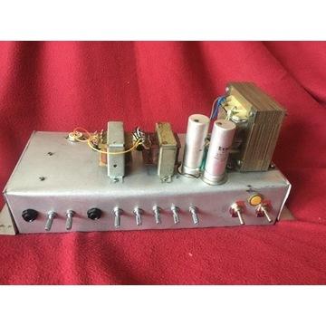 Pełna lampa head czysty/gain, 2xECL86,ECC82, EZ80