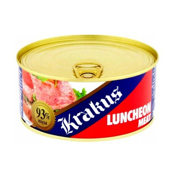 KONSERWA KRAKUS LUNCHEON MEAT 300G 93% MIĘSA