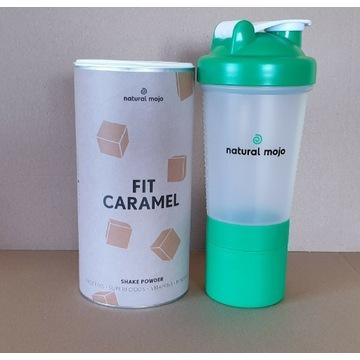 NATURAL MOJO SHAKE - Zestaw Fit Caramel + shaker