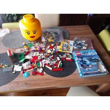 LEGO CITY FRIENDS MIX PUDEŁKO NA KLOCKI