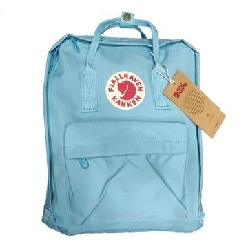 Kanken plecak 16 litrowy Blue niebieski błękitny