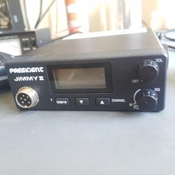 CB radio President Jimmy 2 + antena
