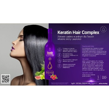 Keratin Hair Complex suplement diety DuoLife