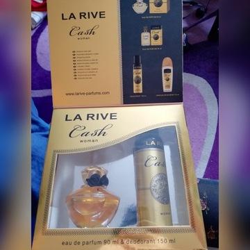 La Rive Zestaw woda perfum.+dezodorant+GRATISfarba