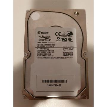 Dysk FC 36GB 10K RPM Seagate ST336704FCV zabytek!