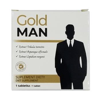 tabletka na erekcje Gold man - mocne działanie